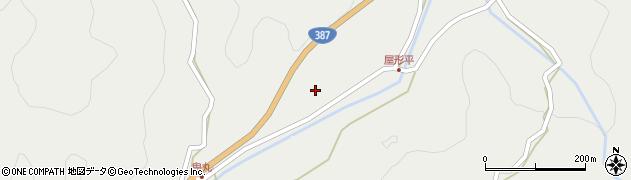 大分県玖珠郡玖珠町森2252周辺の地図