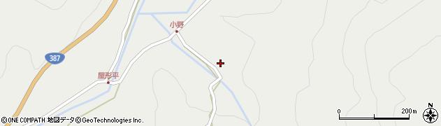 大分県玖珠郡玖珠町森3513周辺の地図