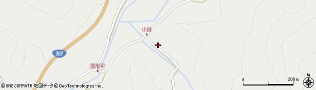 大分県玖珠郡玖珠町森2550周辺の地図