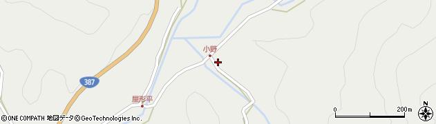 大分県玖珠郡玖珠町森3595周辺の地図