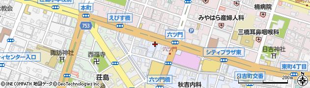 ヘルシーウェイ周辺の地図