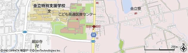 佐賀整肢学園前周辺の地図