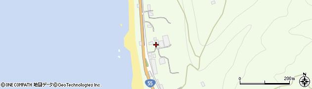 高知県室戸市吉良川町丙周辺の地図