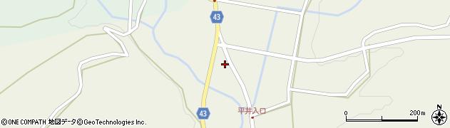 大分県玖珠郡玖珠町太田1498-8周辺の地図