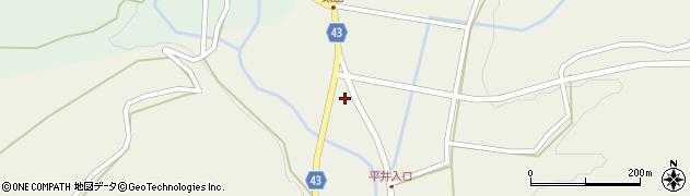大分県玖珠郡玖珠町太田1498周辺の地図