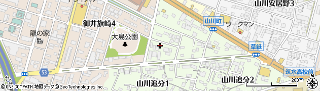 有限会社ジャック警備保障久留米営業所周辺の地図