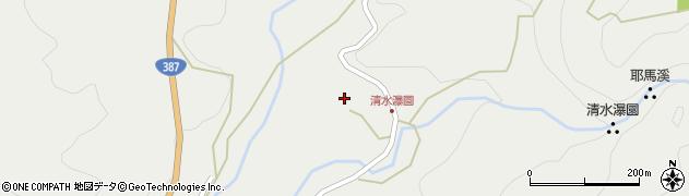 大分県玖珠郡玖珠町森3707周辺の地図
