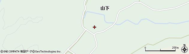 大分県玖珠郡玖珠町山下323周辺の地図