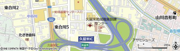 九州安全衛生技術センター周辺の地図