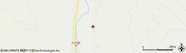 大分県玖珠郡玖珠町森2953周辺の地図