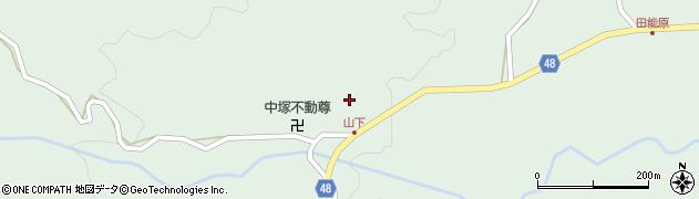 大分県玖珠郡玖珠町山下827周辺の地図