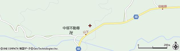 大分県玖珠郡玖珠町山下824周辺の地図