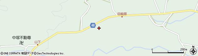大分県玖珠郡玖珠町山下1412周辺の地図