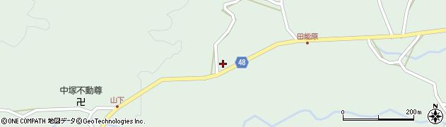 大分県玖珠郡玖珠町山下1419周辺の地図