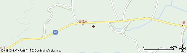 大分県玖珠郡玖珠町山下1378周辺の地図