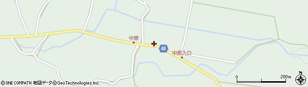 大分県玖珠郡玖珠町山下1987周辺の地図
