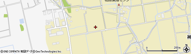 佐賀県神埼市神埼町竹柏原周辺の地図