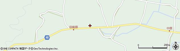 大分県玖珠郡玖珠町山下1361周辺の地図