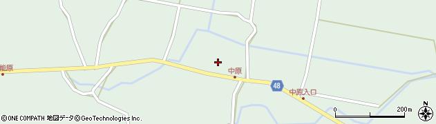 大分県玖珠郡玖珠町山下1994周辺の地図