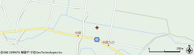 大分県玖珠郡玖珠町山下2023周辺の地図