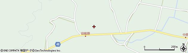 大分県玖珠郡玖珠町山下1368周辺の地図