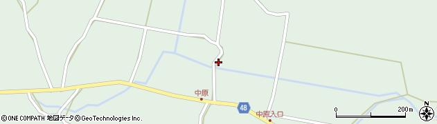大分県玖珠郡玖珠町山下1967周辺の地図