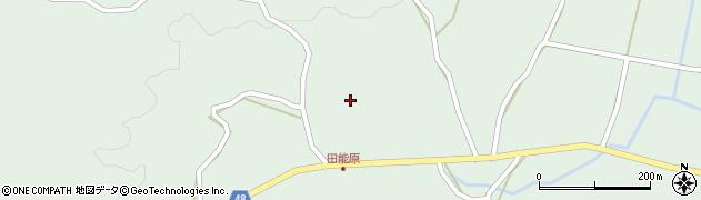 大分県玖珠郡玖珠町山下1354周辺の地図