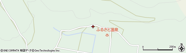 大分県玖珠郡玖珠町山下1650周辺の地図