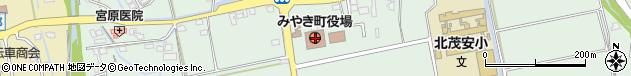 佐賀県三養基郡みやき町周辺の地図