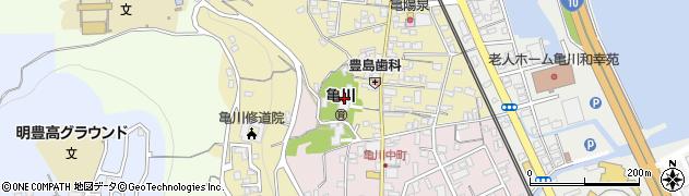 西光寺周辺の地図