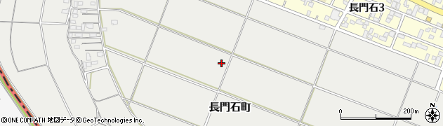 福岡県久留米市長門石町周辺の地図