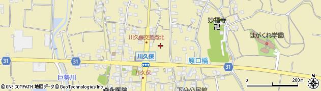 佐賀県佐賀市久保泉町(川久保)周辺の地図