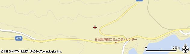 大分県玖珠郡玖珠町日出生長谷周辺の地図