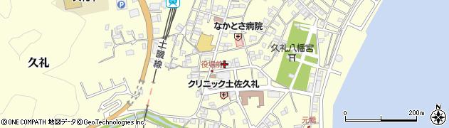 高知県中土佐町(高岡郡)周辺の地図