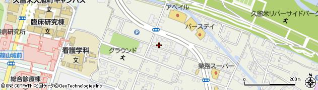 タカスギ株式会社久留米支店周辺の地図