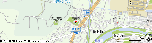 長善寺周辺の地図