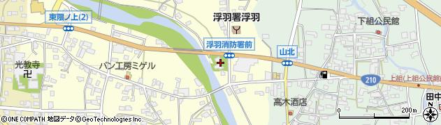 西連寺周辺の地図