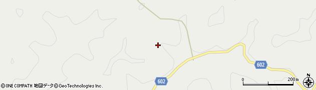 大分県玖珠郡玖珠町森内松周辺の地図