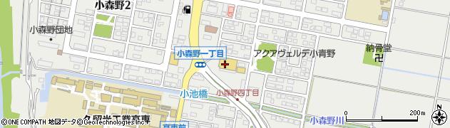 株式会社あんくるふじや あんくる夢市場久留米店周辺の地図