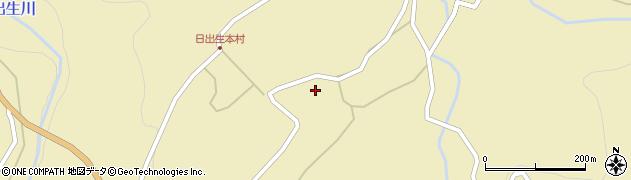 大分県玖珠郡玖珠町日出生2361周辺の地図