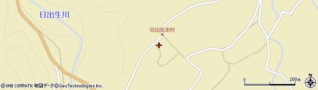 大分県玖珠郡玖珠町日出生2436周辺の地図