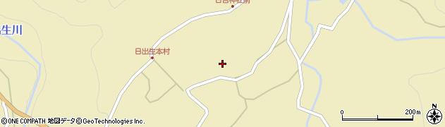 大分県玖珠郡玖珠町日出生2232周辺の地図