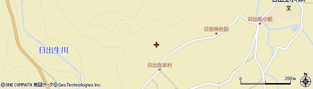 大分県玖珠郡玖珠町日出生2529周辺の地図