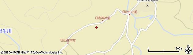 大分県玖珠郡玖珠町日出生2505周辺の地図