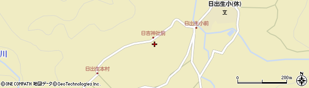 大分県玖珠郡玖珠町日出生2449周辺の地図