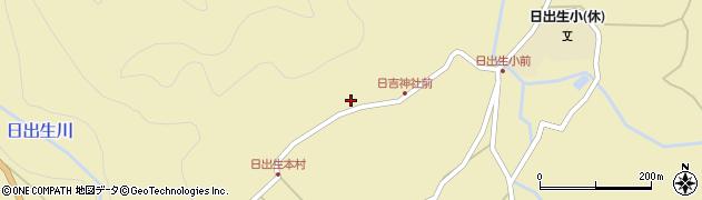 大分県玖珠郡玖珠町日出生2521周辺の地図