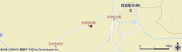 大分県玖珠郡玖珠町日出生2464周辺の地図