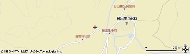 大分県玖珠郡玖珠町日出生2468周辺の地図