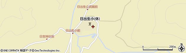 大分県玖珠郡玖珠町日出生1934周辺の地図