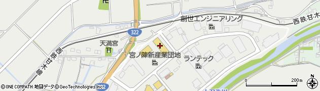UDトラックスジャパン株式会社久留米周辺の地図